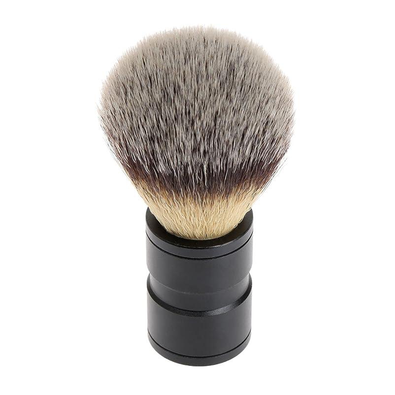 引き受ける温帯モネシェービング ブラシ 理容 洗顔 髭剃り マッサージ 効果 ナイロン毛 メンズ