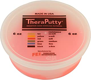 Theraputty Cando Plus Antimicrobial Theraputty, Red