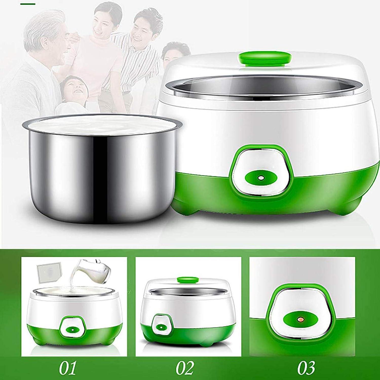 for home use Stainless steel household small-cup mini rice wine natto fermentation machine Fully Automatic Chutoral Mini Yogurt Machine Green