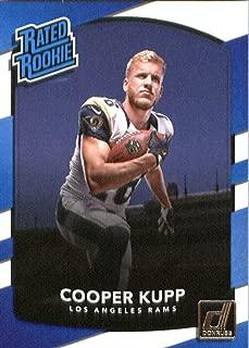 2017 Donruss #329 Cooper Kupp LA Rams Rated Rookie NFL Football Card NM-MT