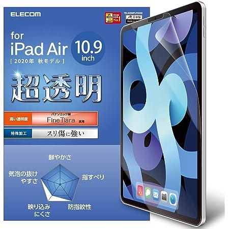 エレコム iPad Air 2020 10.9インチ (第4世代) / iPad Pro 11(2020年春・2018年) 対応 液晶保護フィルム 高光沢 高精細 耐擦傷 TB-A20MFLFIGHD