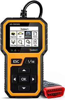 AstroAI OBD2 ASIOS520 Escáner Automotriz Professional, Lector de Códigos Universal, Scaner para Auto Herramienta de Diagnó...