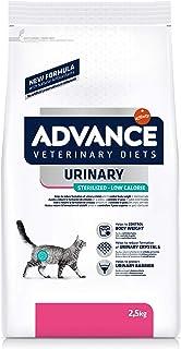 Advance Veterinary Diets Urinary Low Calorie - Pienso para Gatos, 2.5 kg