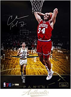 CHARLES BARKLEY Autographed Philadelphia 76ers