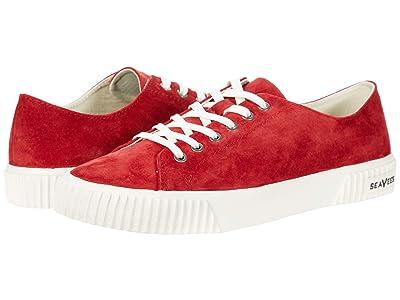 SeaVees Darby Sneaker (Scarlet) Women