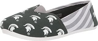 FOCO NCAA Womens College Canvas Script Print Slip On Shoes