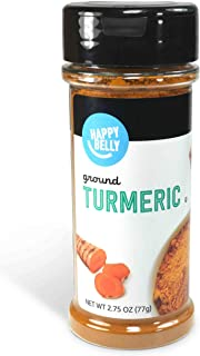 Amazon Brand - Happy Belly Turmeric, Ground, 2.75 Ounces