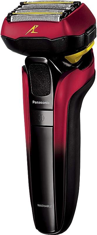 講師正当な出席するパナソニック ラムダッシュ メンズシェーバー 5枚刃 赤 ES-CLV5E-R