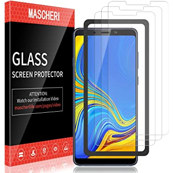 Case Friendly Scratch-Resistant Premium Tempered Glass Screen Protector for Samsung Galaxy A9 Star Anti-Shatter Conber 2 Pack Screen Protector for Samsung Galaxy A9 Star,