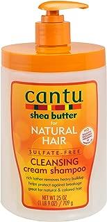 Cantu Shea Butter Natural Hair Cleansing Cream Shampoo - 25oz, 25 Oz