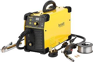 Mig Welder, Mig Welding Machine, Dual Voltage 110/220V Co2 Gasless Mig Flux Wire Welding Machine (MIG125D)