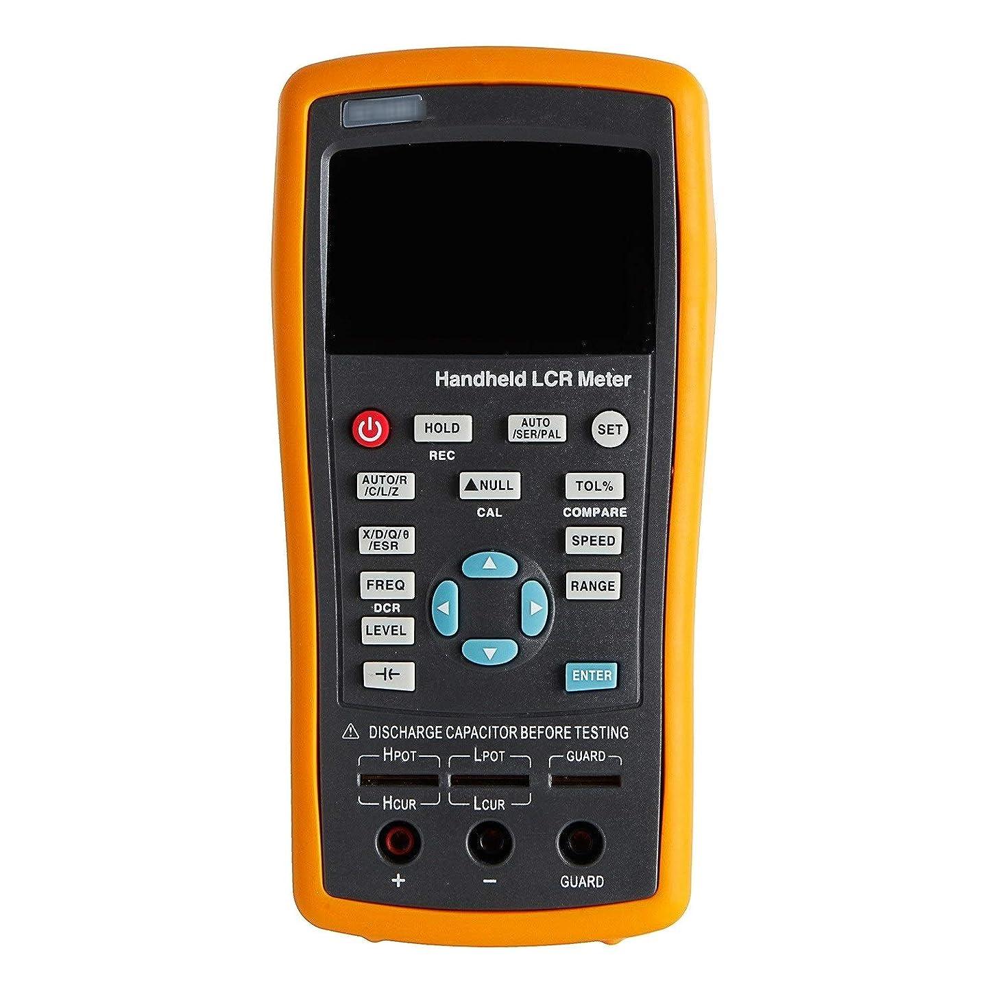 お祝い殺人前に正確な測定 デジタルLCRメーター バックライトディスプレイ付 ハンドヘルド LCRブリッジ ET42 +/- 0.2%精度 抵抗電解容量測定