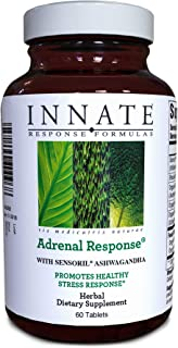 INNATE Response Formulas, Adrenal Response, Herbal Supplement, Non-GMO, Vegetarian, 60 tablets (30 servings)