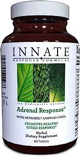 INNATE Response Formulas, Adrenal Response, Herbal Supplement, Non-GMO, Vegetarian, 60 tablets (30 servings)