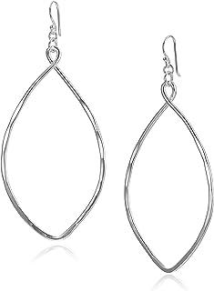 Robert Lee Morris Womens Large Oval Drop Earrings