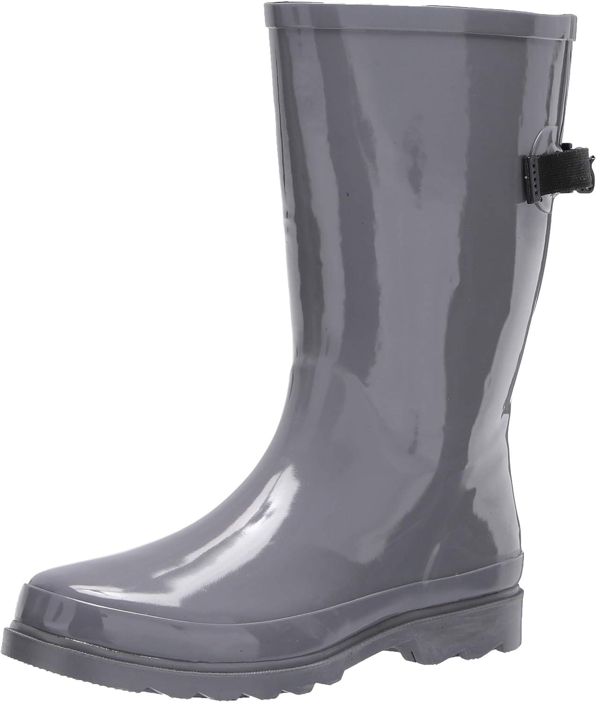 Western Chief Kids womens Wide Calf Waterproof Rain Boot