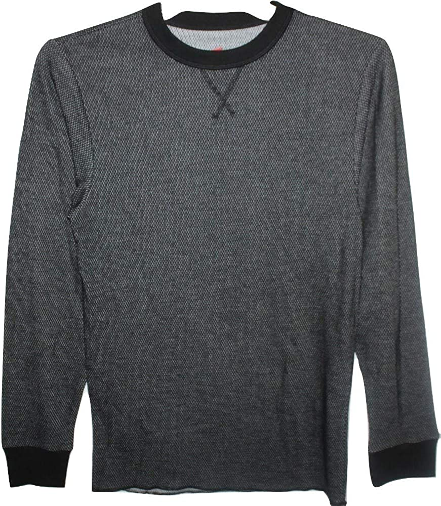 Hanes Men's Tagless Thermal Crew Neck Winter Underwear Top