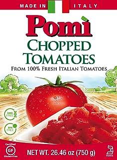 Pomi Tomatoes Chopped Italian, 26.46 oz ( Pack of 12)