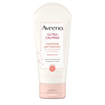 Aveeno Ultra-Calming Hydrating Gel Facial Cleanser
