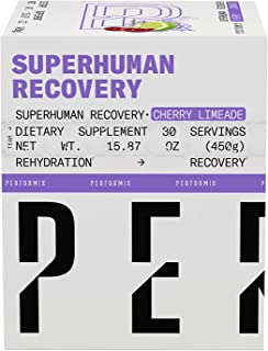 Performix Superhuman Recovery - 30 Servings - Rehydration and Recovery - Helps Strength Gains, Lean Muscle Growth and Reco...