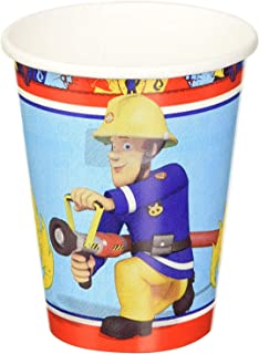 Fireman Sam Hot or Cold Party Cups 266 ml 8-9 oz Twin Pack 16 Cups