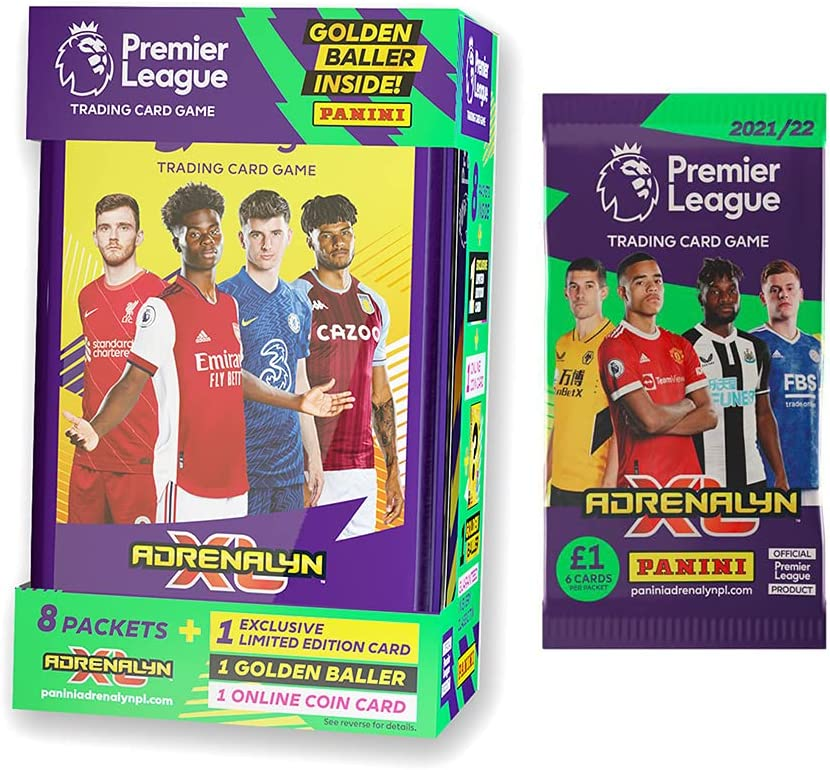 2021-22 Ranking TOP15 Panini Adrenalyn Premier League Tin Yellow Sale SALE% OFF Mega - Cards
