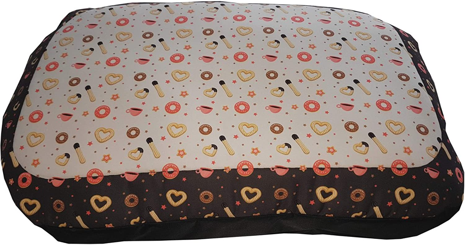 Kennel Mat Mattress with sweets, A Single Piece 70x46x12