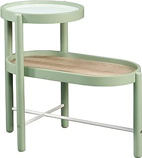 Sauder 422073 Anda Norr Side Table, Sage Green Finish