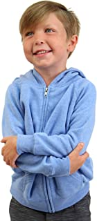 Global Youth Lightweight Zip Up Fleece Hoodie for Boys Girls Toddlers