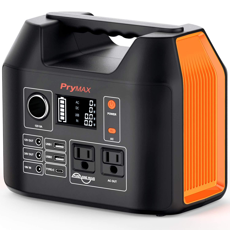 PRYMAX Portable Generator Flashlight Emergency