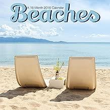 Beaches 2016 Mini Wall Calendar by Trends International