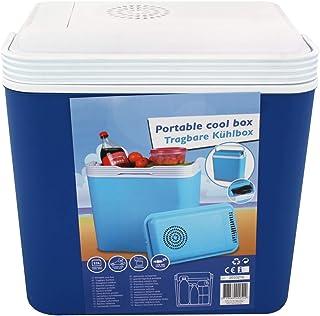 All Ride Nevera Portable 12V Box Térmico 22 L Azul para Coche Viajes Mar Campamento