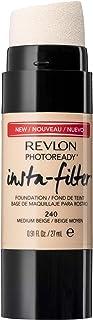 كريم اساس فوتوريدي انستا-فلتر من ريفلون، لون ميديوم بيج- 0.27 غرام