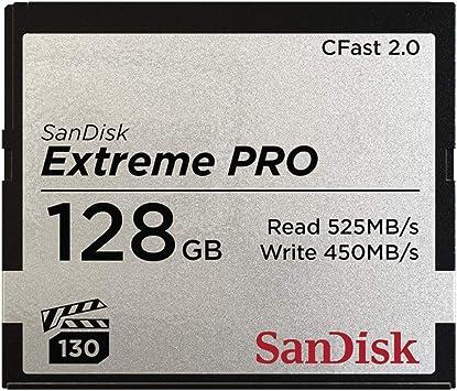 Sandisk Extreme Pro 128gb C Fast 2 0 Speicherkarte Mit Computer Zubehör