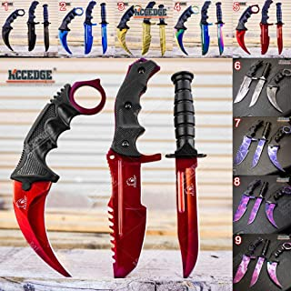 Tactical Knife Survival Knife Hunting Knife Fixed Blade Knife Combo Razor Sharp Edge Camping Accessories Camping Gear Survival Kit Survival Gear Tactical Gear Knife Set 52319