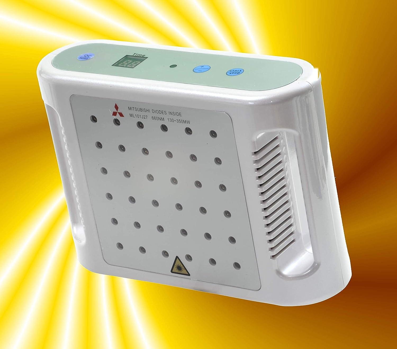Detox-Laser  Lipo-Pad Lipo-Laser [@Home] mit 36x130 mW Mitsubishi-Dioden [auch für Lichttherapie] von HMERHEAD [Versand durch Verkufer]
