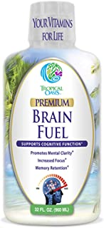 Sponsored Ad - Brain Fuel - Liquid Brain Nootropic Supplement for Increased Mental Clarity, Focus, Concentration, Memory R...