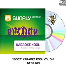 2007 Sunfly Karaoke Kool - CD+G - Aussie Radio Hits Vol 014