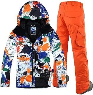 Ski Jacket Pant Snowboard Skiing Suit Windproof Waterproof Outdoor Sport Wear Male Winter Clothing Trouser