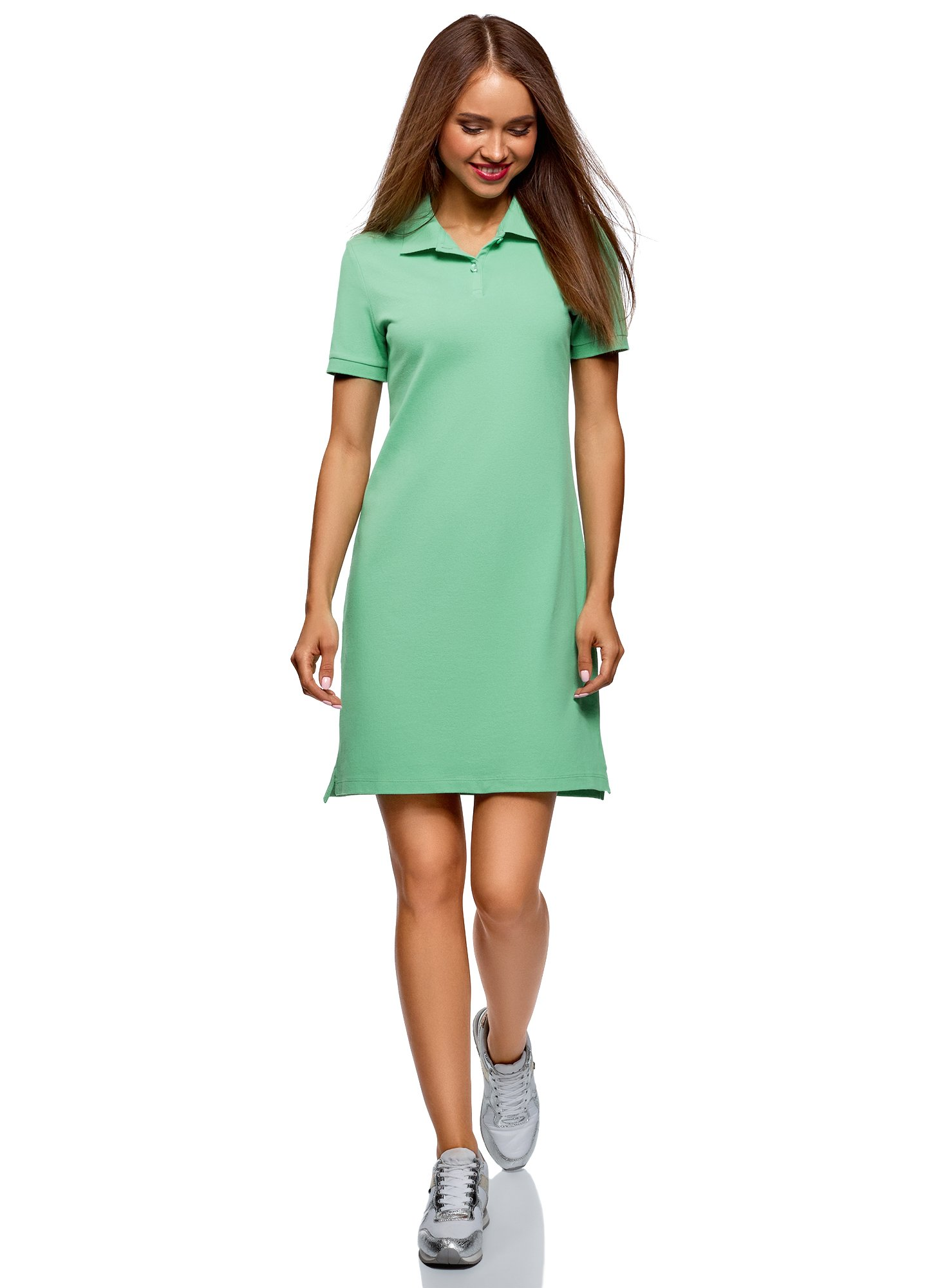 Available at Amazon: oodji Ultra Women's Pique Polo Dress