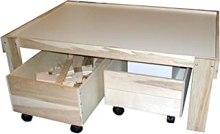 product image for Beka Train Table with Top and Two Trundles