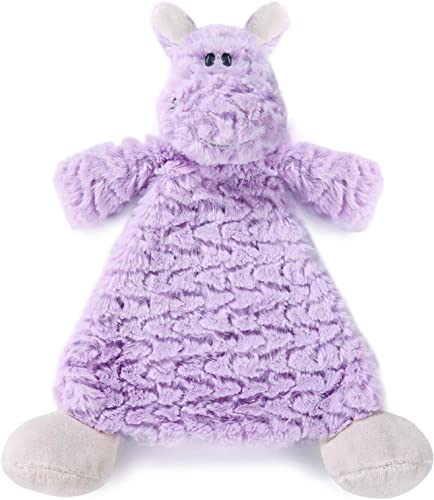 disfrutando de sus compras Nat Nat Nat and Jules Rattle Blankie, Harlow Hippo by Nat and Jules  costo real