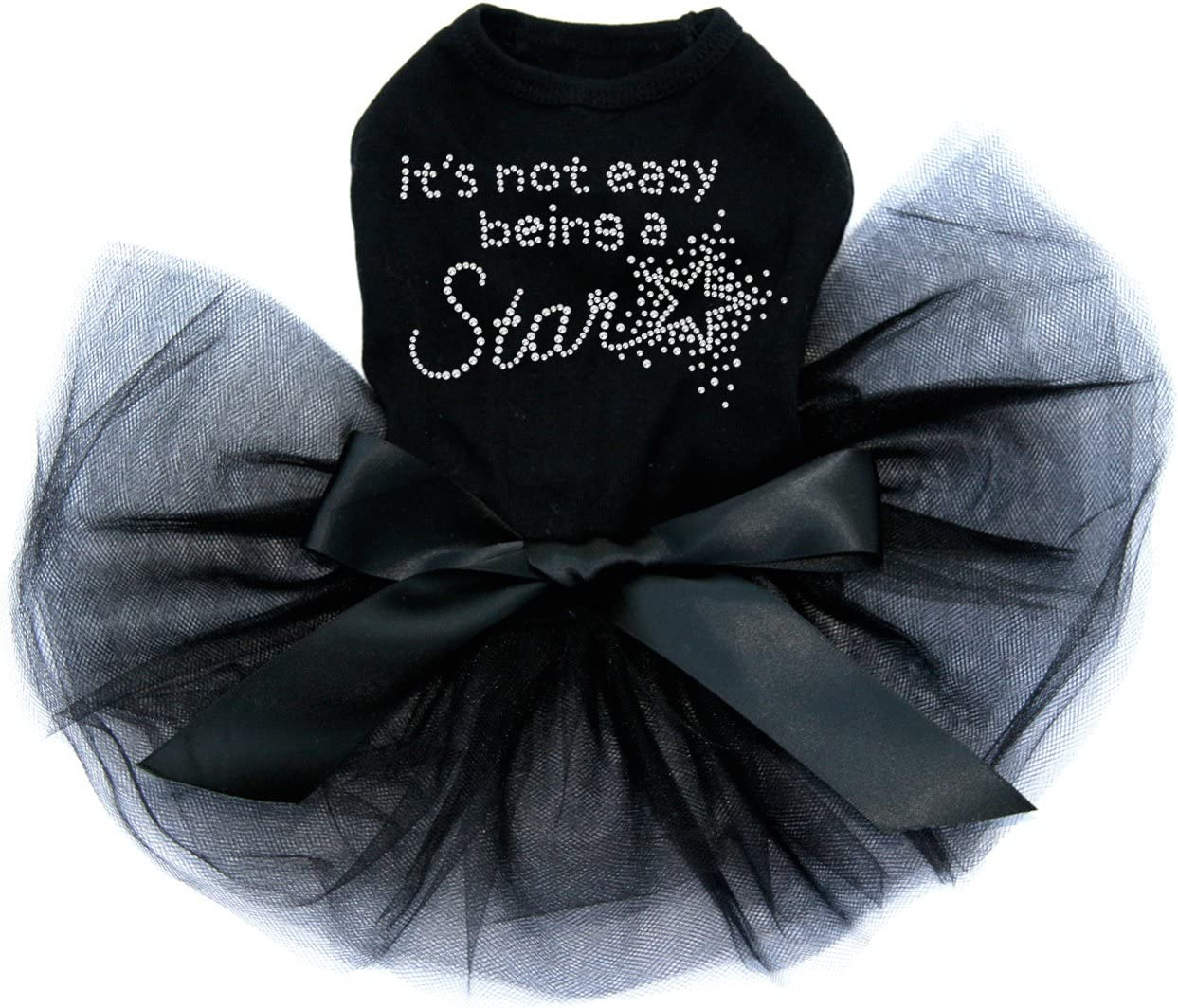 It's Factory outlet Not National uniform free shipping Easy Being a Star Tutu - L Black Dress Dog