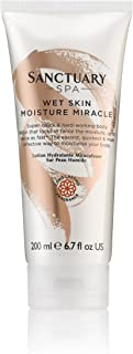 Sanctuary Spa Body Lotion Wet Skin Moisture Miracle and Body