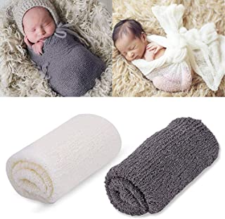 cheesecloth newborn photography