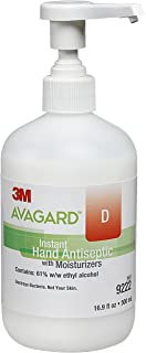 Avagard 9222 Instant Hand Antiseptic with Moisturizers, 61% Ethyl Alcohol (Pack of 12)