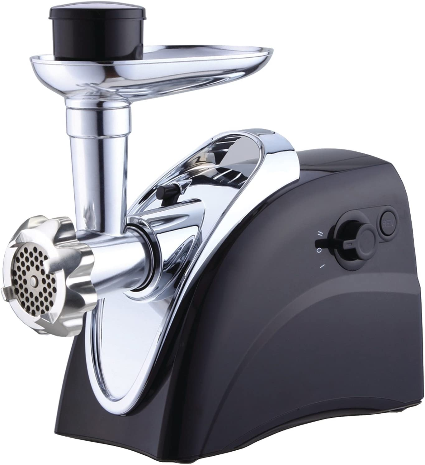 Brentwood Boss Easy to Use Max 60% OFF Grinder Black Sausage Stuffer Bargain