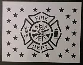 OutletBestSelling Reusable Sturdy Fire Department Flag 11