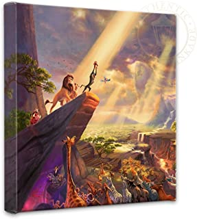 thomas kinkade lion king painting