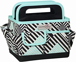 Everything Mary Collapsible Craft Caddy, Teal - Art Storage for Supplies & Crafts - Supply Organizers Tote for School Clas...